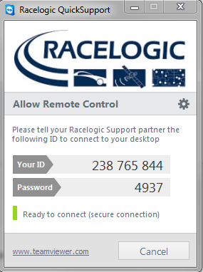 Racelogic Remote Support